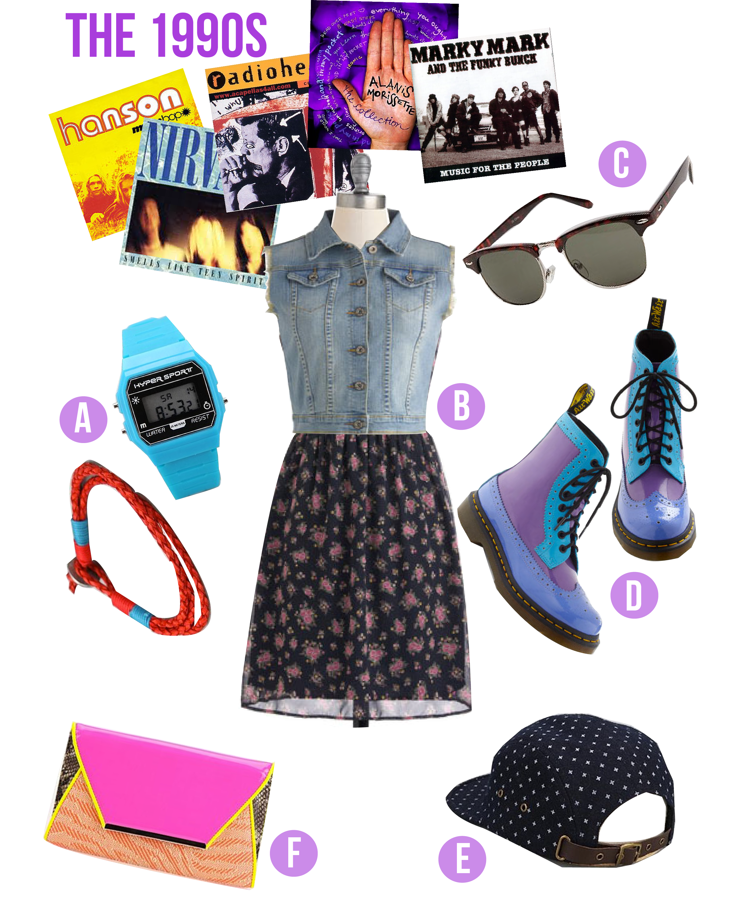 1990 Fashion Trends Favorite style trends of